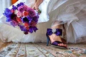 Wedding Shoes Purple 300x200 W kolorowych butach do ślubu