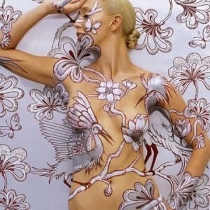 body painting 300x300 Oryginalne zdobienie ciała – bodypainting