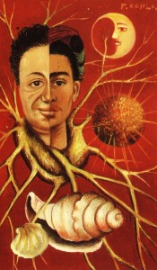 Frida Kahlo y Diego Rivera2 175x300 Serce na pół