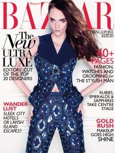 227934 10151243106289783 1920618952 n 226x300 Zuzanna Bijoch na okładce Harper's Bazaar