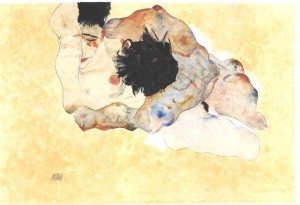 Schiele   Umarmung   1912 300x205 Nic o seksie bez seksu