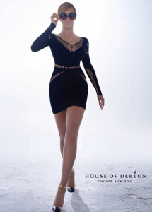 beyonce house of dereon fall winter 2013 215x300 Beyonce reklamuje kolekcję House Of Dereon