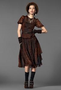 dolce gabbana fw 2013 collection women baroque 033 203x300 Barocco   najnowszy lookbook marki Dolce&Gabbana