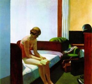 edward hopper hotel room 1931 e1276936366167 300x273 Seks na urlopie