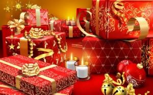 prezenty czerwone 300x187 Jak uniknąć szaleństwa przedświątecznych zakupów