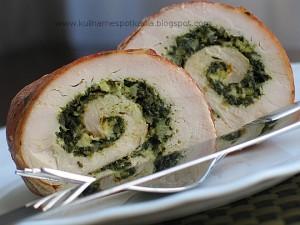 roladki z kurczaka ze szpinakiem w szynce szwarcwaldzkiej 300x225 Oczekiwana kolacja, nieoczekiwane rozwiązanie