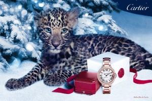 Ballon bleu Winter tale Cartier 300x200 Cartier   zimowa kampania reklamowa