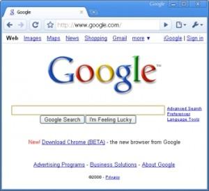Google Chrome 300x275 Czego szukaliśmy najczęściej w Google?