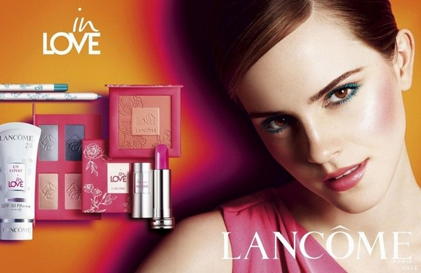 emma watson lancme in love8217 beauty collection 1 Emma Watson ponownie twarzą Lancome
