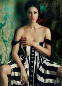 0caea77e001bda5a512600d8 217x300 Monica Bellucci na okładce Harpers Bazaar Ukraine