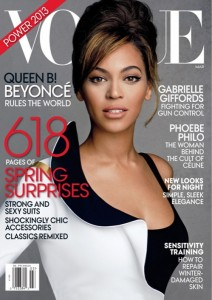 beyonce vogue us march 2013 lamode.info 8 212x300 Beyonce na okładce Vogue US