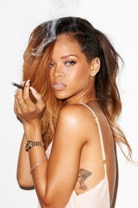 rihanna fot rolling stones by terry richardson lamode      3