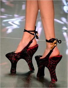 shoe9 232x300 Przedziwne buty
