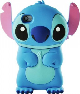 Disney 3d Stitch Movable Ear Flip Hard Case For iPhone 256x300 Komórkowe ozdoby
