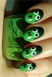 Easy Frog Nails Nail Art Tutorial Swatch smaller 201x300 Paznokcie ze zwierzątkami