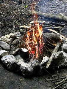 jura ognisko 225x300 Historia gotowania