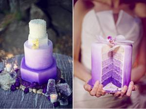 purple ombre cake 300x225 Tort ombre