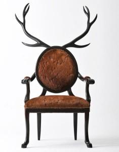 original deer chair by Merve Kahraman 235x300 Niebanalne krzesła