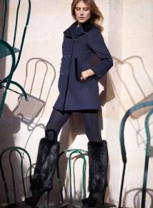 dree hemingway Louis Vuitton katalog pre fall 2013 lamode.info1  222x300 Dree Hemingway dla Luis Vuitton