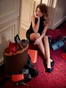 dree hemingway Louis Vuitton katalog pre fall 2013 lamode.info  225x300 Dree Hemingway dla Luis Vuitton