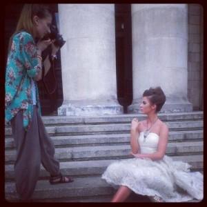 fot aleksandra dargiewicz 4 300x300 Justyna Pawlicka z Top Model w sukniach ślubnych