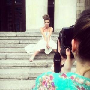 fot aleksandra dargiewicz 5 300x300 Justyna Pawlicka z Top Model w sukniach ślubnych