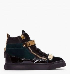 giuseppe zanotti exclusive velvet sneakers 02 284x300 Ekskluzywne sneakersy od Giuseppe Zanottiego