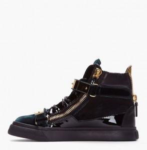 giuseppe zanotti exclusive velvet sneakers 04 293x300 Ekskluzywne sneakersy od Giuseppe Zanottiego