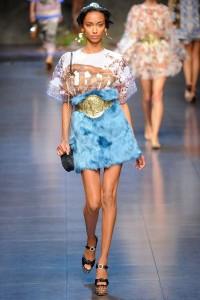 Dolce Gabbana wiosna lato 2014 LaMode  12  200x300 Dolce & Gabbana na sezon wiosna lato 2014