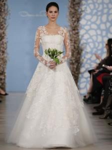 suknie slubne 2014 oscar de la renta fot mat prasowe 225x300 Suknie ślubne Oscara de la Renty na rok 2014