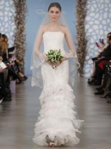 suknie slubne 2014 oscar de la renta fot mat prasowe15 225x300 Suknie ślubne Oscara de la Renty na rok 2014