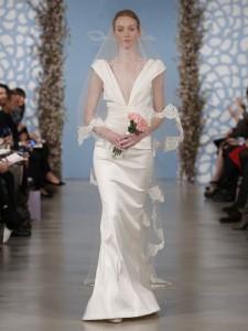 suknie slubne 2014 oscar de la renta fot mat prasowe4 225x300 Suknie ślubne Oscara de la Renty na rok 2014
