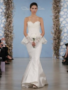 suknie slubne 2014 oscar de la renta fot mat prasowe8 225x300 Suknie ślubne Oscara de la Renty na rok 2014