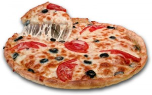 1984 pizza 300x188 Studencka pizza bez drożdży