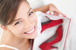 czerwone buty 4 300x199 Reklamacja obuwia   odwieczna batalia