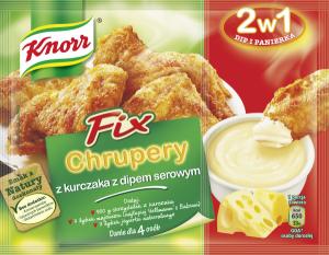 Chrupery z kurczaka z dipem serowym 300x233 Chrupiące kurczaki z mozzarellą
