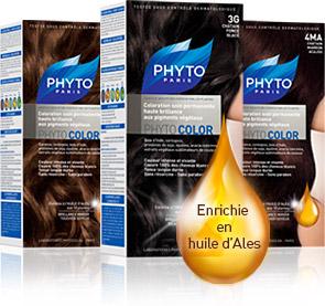 home pack oil Roślinne pigmenty dla włosów