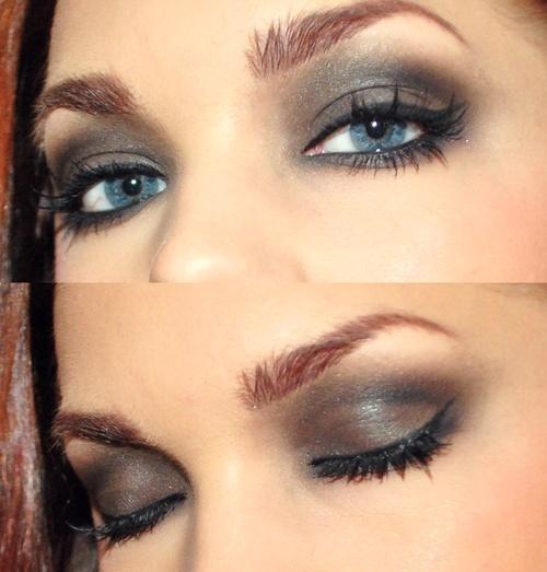 Makijaż Niebieskich Oczu