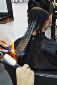 DSC0151 200x300 Termiczne leczenie włosów ogniem