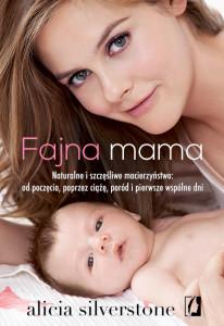 Fajna mama front 72dpi 206x300 Przewodnik po naturalnym oraz intuicyjnym rodzicielstwie