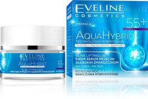 webIntensywnie ujedrniajacy krem serum przeciw zmarszczkom  55 AQUA HYBRID 300x200 Letnie nowości marki Eveline