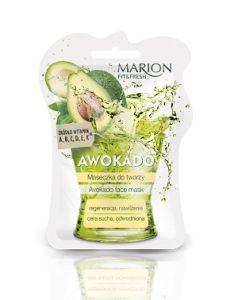 web Maseczka AWOKADO FITFRESH 238x300 Soczyste maseczki do twarzy z serii Marion Fit&Fresh. Odżywiona cera w doskonałej kondycji