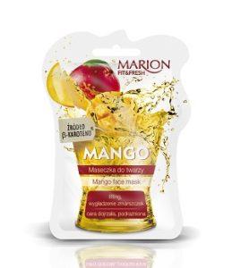 web Maseczka MANGO FITFRESH 259x300 Soczyste maseczki do twarzy z serii Marion Fit&Fresh. Odżywiona cera w doskonałej kondycji