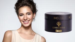 czarne mydlo Bioline kolaz800px 300x170 Creme brulee dla cery   Savon Noir Bioline