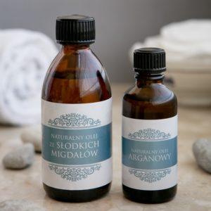 Optima PLUS naturalne oleje arganowy i migdałowy 300x300 Pomysł na świąteczny prezent – domowe kosmetyki z olejkami eterycznymi