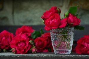 roses 821705 1920 300x199 Jak zorganizować romantyczny wieczór – 7 wskazówek