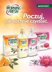 197580 handel extra 1 jpg morning 1 218x300 Poczuj, jak pachnie czystość. Nowość od Morning Fresh – proszki do prania oraz płyny do płukania tkanin