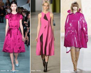 fall winter 2016 2017 color trends pink fuchsia 300x243 Hit sezonu, czyli róż w kolorze gumy balonowej