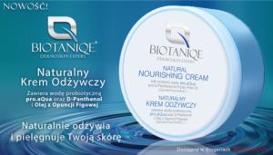 banner Naturalny Krem Odzywczy 700x400 300x171 Biotaniqe to kosmetyki oparte na probiotycznej wodzie pro.aQua