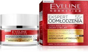 web Przeciwzmarszczkowy krem serum 55 Ekspert Odmlodzenia 300x180 Ekspert Odmłodzenia   nowość od Eveline Cosmetics